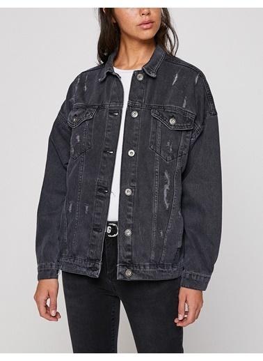 Koton Ceket Siyah